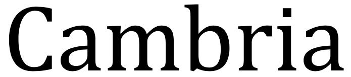Fuente Cambria